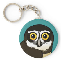 Birdorable Spectacled Owl Keychain