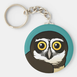 Birdorable Spectacled Owl Keychain