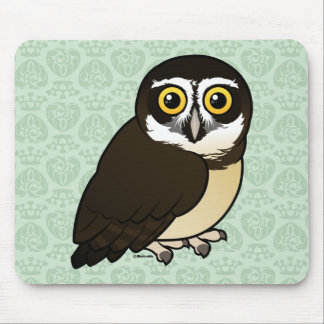 Birdorable Spectacled Owl Mouse Pad