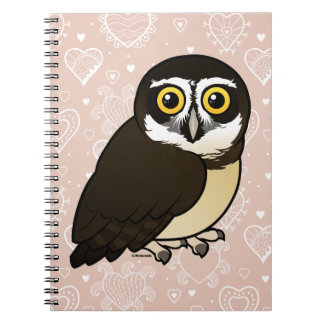 Birdorable Spectacled Owl Notebook