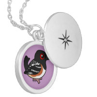 Spotted Towhee Medium Necklace