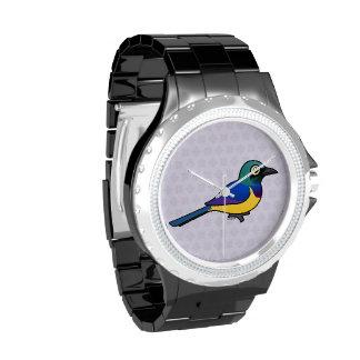 Birdorable Starling De oro-breasted Reloj