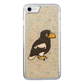 Birdorable Steller's Sea Eagle Carved iPhone 7 Case