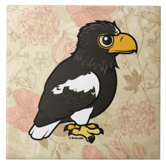 Birdorable Steller's Sea Eagle Ceramic Tile