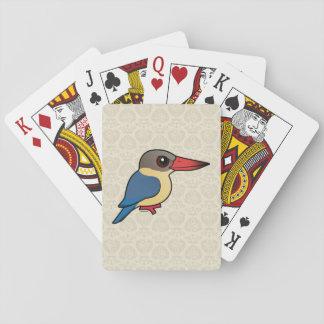 Birdorable Stork-billed Kingfisher Card Deck