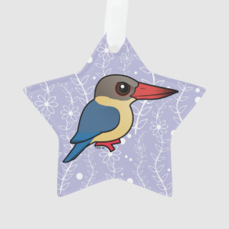 Birdorable Stork-billed Kingfisher Ornament