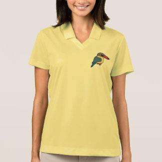 Birdorable Stork-billed Kingfisher Polo T-shirt