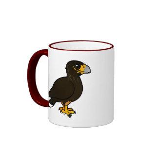 Birdorable Striated Caracara Ringer Coffee Mug