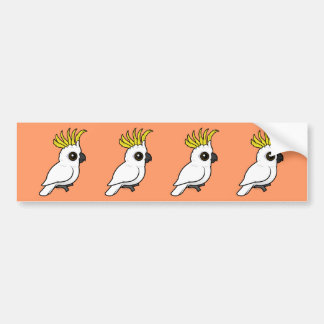 Birdorable Sulphur-crested Cockatoo Bumper Sticker