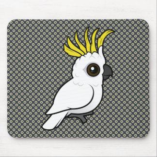 Birdorable Sulphur-crested Cockatoo Mouse Pad