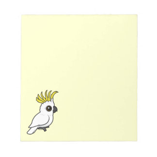 Birdorable Sulphur-crested Cockatoo Notepad