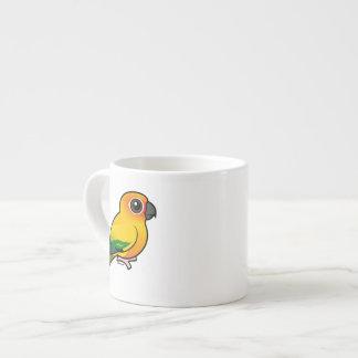 Birdorable Sun Parakeet 6 Oz Ceramic Espresso Cup