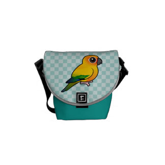 Birdorable Sun Parakeet Courier Bag