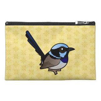 Birdorable Superb Fairywren Travel Accessory Bag