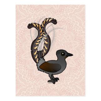 Birdorable Superb Lyrebird Postcard