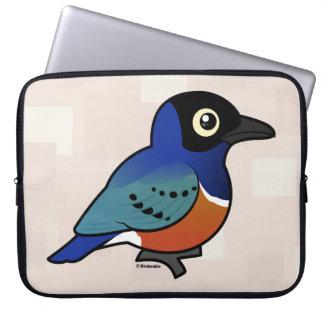 Birdorable Superb Starling Laptop Sleeve