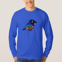 Superb Starling Men's Basic Long Sleeve T-Shirt