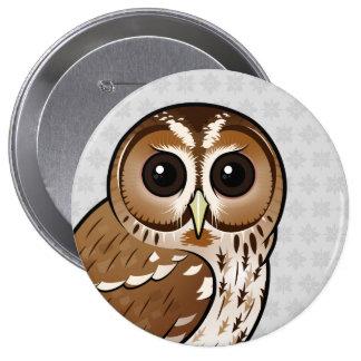 Birdorable Tawny Owl Pinback Button