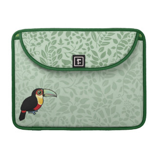 Birdorable Toucan de pecho rojo Funda Para Macbook Pro