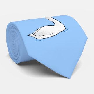 Birdorable Trumpeter Swan Tie