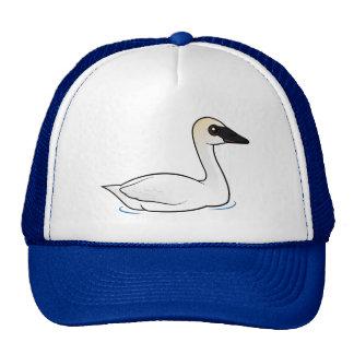 Birdorable Trumpeter Swan Trucker Hat