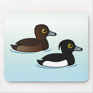Birdorable Tufted Duck pair Mouse Pad