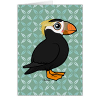 Tufted Puffin Note Card