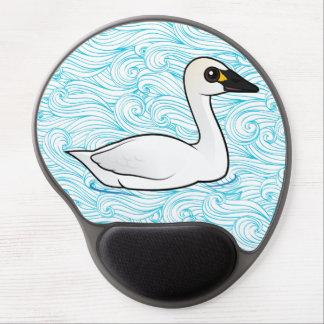 Birdorable Tundra Swan Gel Mouse Pad