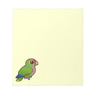 Birdorable Vinaceous Parrot Memo Notepad