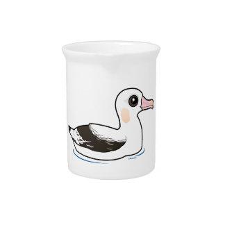 Birdorable Wandering Albatross Drink Pitcher