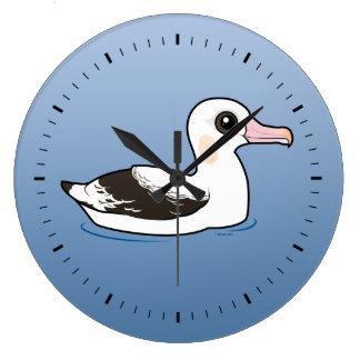 Birdorable Wandering Albatross Large Clock