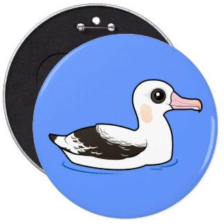 Birdorable Wandering Albatross Pinback Buttons