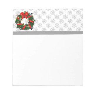 Birdorable Warblers Christmas Wreath Note Pads