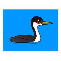 Birdorable Western Grebe Postcard