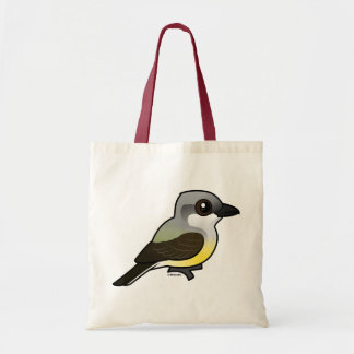 Birdorable Western Kingbird Tote Bag