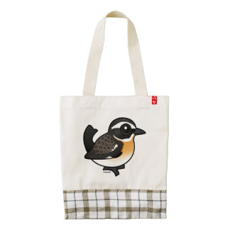 Birdorable Whinchat Zazzle HEART Tote Bag