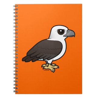 Birdorable White-bellied Sea Eagle Spiral Notebook