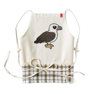 Birdorable White-bellied Sea Eagle Zazzle HEART Apron
