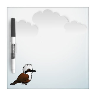 Birdorable White-crested Laughingthrush Dry Erase Board