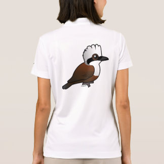 Birdorable White-crested Laughingthrush Polo Shirt