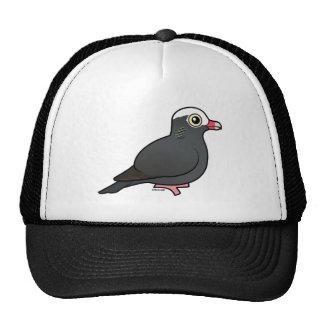 Birdorable White-crowned Pigeon Mesh Hats