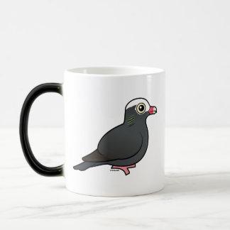 Birdorable White-crowned Pigeon Mugs