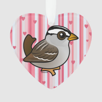 Birdorable White-crowned Sparrow Ornament