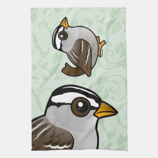 Birdorable White-crowned Sparrow Towels