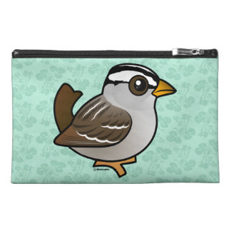 Birdorable White-crowned Sparrow Travel Accessory Bag