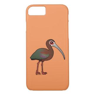 Birdorable White-faced Ibis iPhone 7 Case