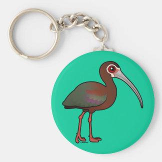 Birdorable White-faced Ibis Key Chains