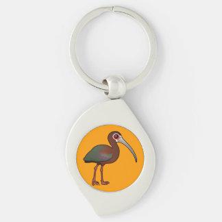 Birdorable White-faced Ibis Keychains