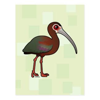 Birdorable White-faced Ibis Postcard