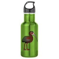 White-faced Ibis Water Bottle (24 oz)